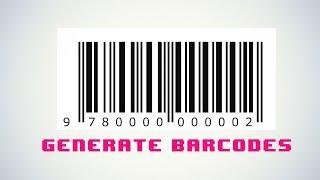 Het genereren van Barcodes met PHP