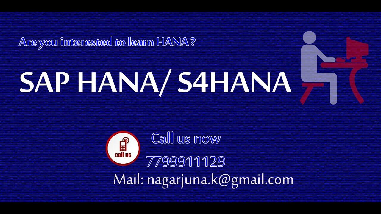 SAP S4 HANA, SAP S/4HANA Online Training Institute