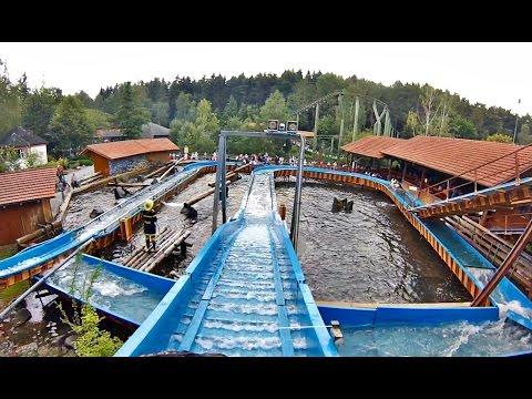 Wildwasserbahn (Onride) Video Bayern Park Reisbach 2016