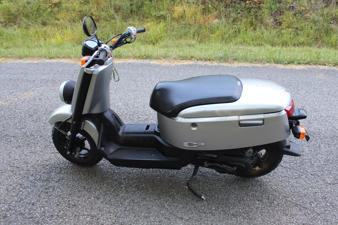 YAMAHA C3 Scooter / C-CUBED (XF50) Walk-around Test Ride