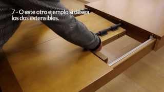 Rico Forte - Montaje Mesas 905 y 967