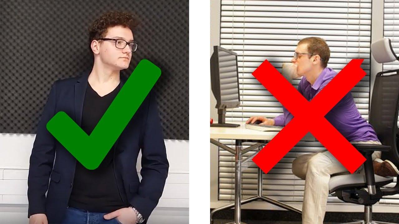 6 Tipps für eine Selbstbewusste Körpersprache! - YouTube