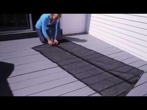 Антимоскитная сетка штора на магнитах на дверь