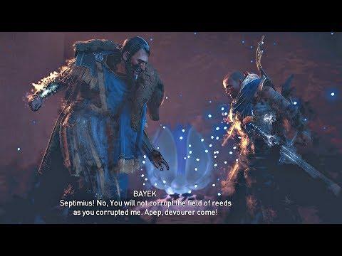 Assassin's Creed Origins DLC - NENA Quest Cutscenes In DUAT Afterlife & Septimius Scene
