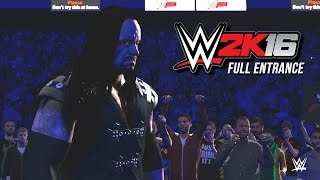 WWE 2K16 The Undertaker Ministry Entrance & Fast Lane Arena