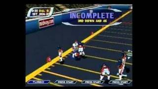 NFL Blitz 2001 Nintendo 64 Gameplay