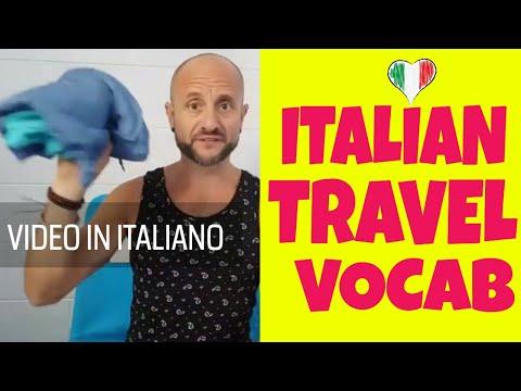 [LIVE] Italian Travel Vocabulary (video in italiano)
