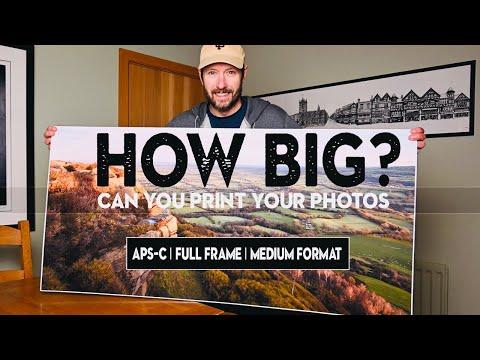 How BIG can you PRINT your PHOTOS? (Fuji XT3 vs Nikon Z7 vs GFX 50R)