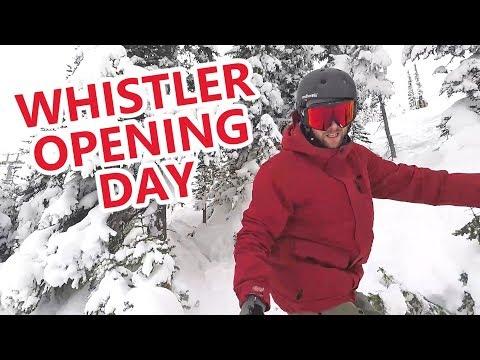 Whistler Opening Day 2017 Vlog