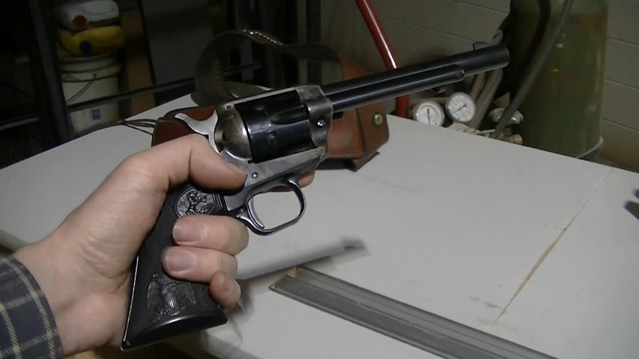 Colt Peacemaker  22 LR New Frontier Single Action Revolver Intro