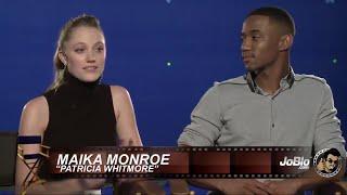 Maika Monroe & Jessie Usher - IDR interview - JoBlo