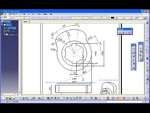 how to save catia drawing as pdf