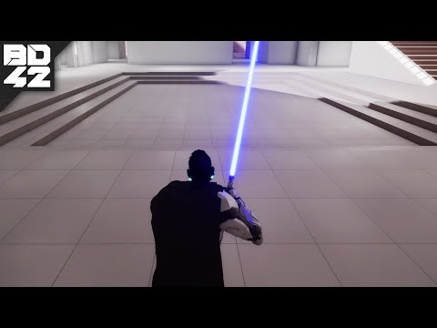 Someone remade Star Wars: Jedi Knight... in Unreal Engine 4