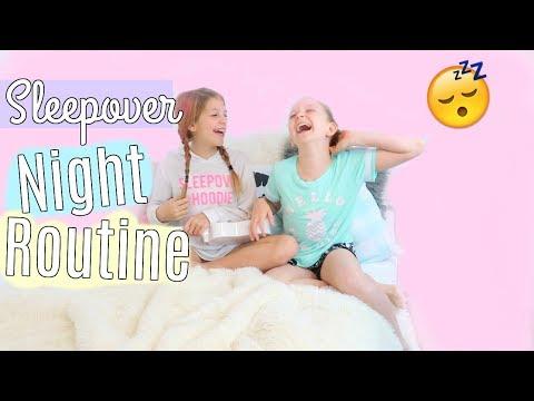 Summer Sleepover Night Routine  Dance Party 2017