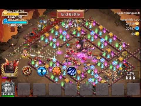 Castle Clash   Testing 7/9 Oracle's Favor Ma Hatma