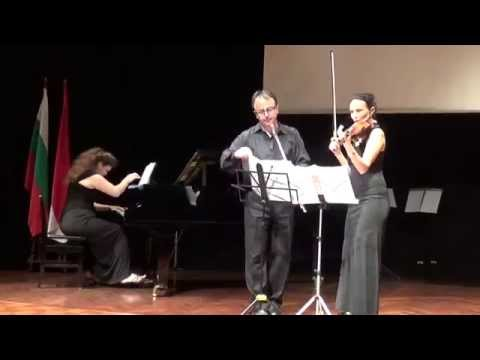 Tatyana Todorova and Ivan Ivanov performing Dilmano Dilbero Trad Bulgarian song with improvisation