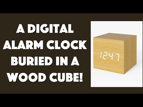 The Simple & Elegant MICAR Digital Wood Clock Reviewed