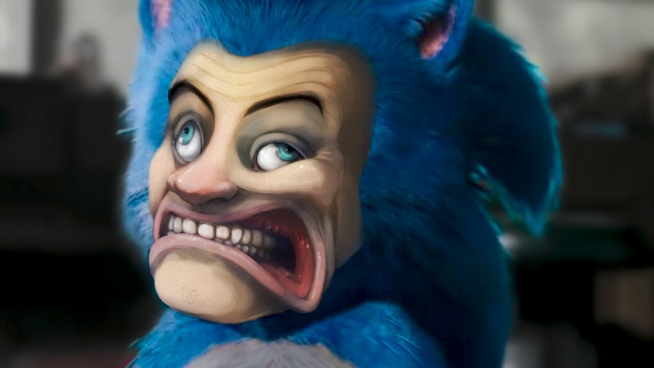 Sonic The Hedgehog Movie but I remade the entire film in Garry's Mod