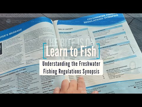 Learn To Fish: Understanding The Freshwater Fishing Regulations Synopsis