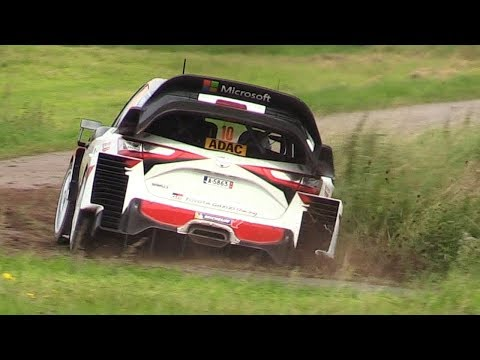 WRC 2017 ADAC Rallye Deutschland 2017 Pure Sounds, Action, Jumps More