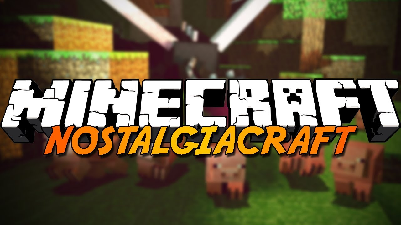 MINECRAFT - Nostalgiacraft #1 - Em busca do diamante! - MINECRAFT - Nostalgiacraft # 1 - In Search of the Diamond!