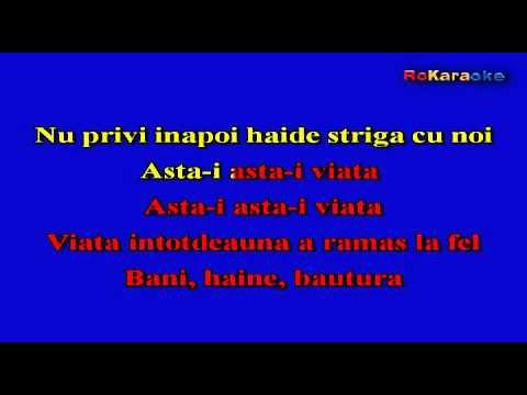 VOLTAJ-Asta-i viata  Karaoke profesional