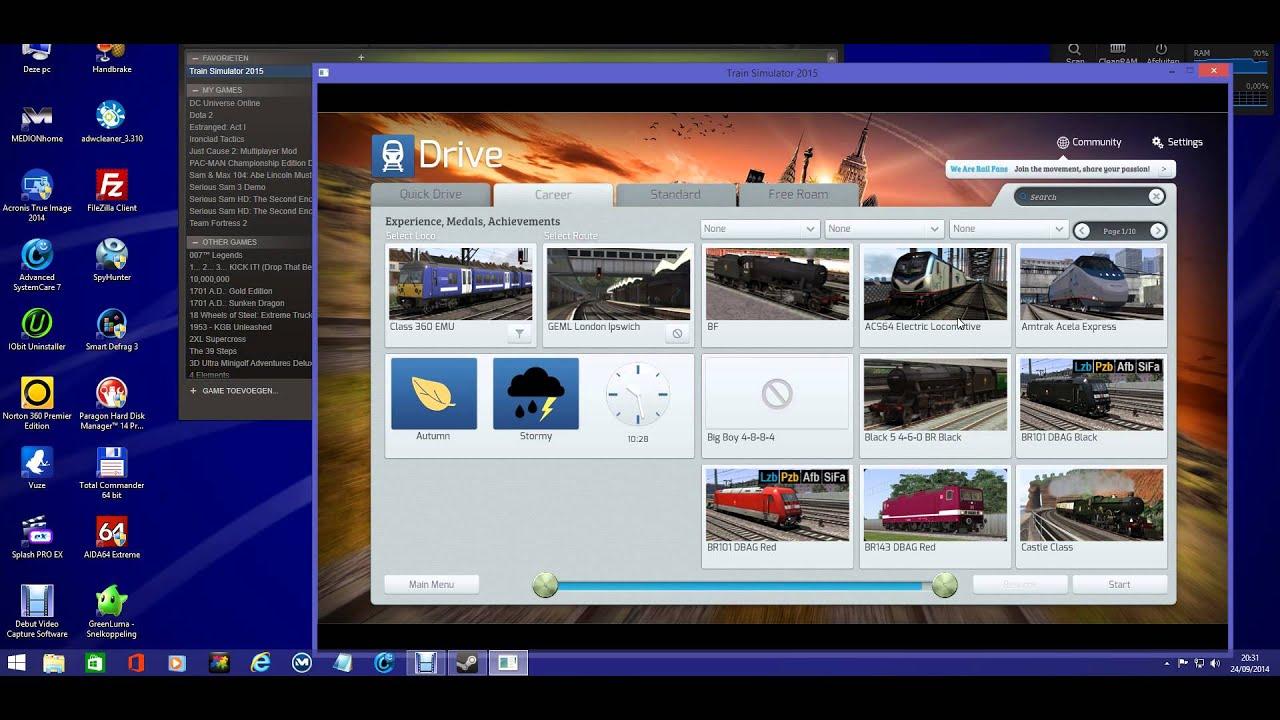 Train simulator 2015 steam crack youtube train simulator 2015 steam crack malvernweather Choice Image