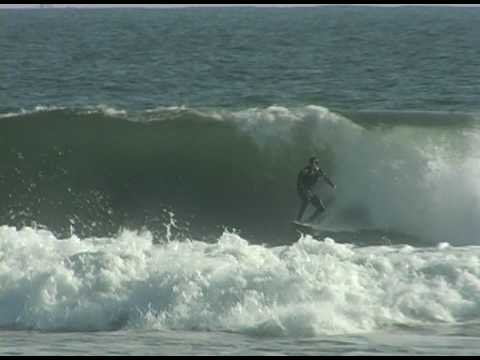 Jesse Evans Surfing Huntington Beach Secret Spot