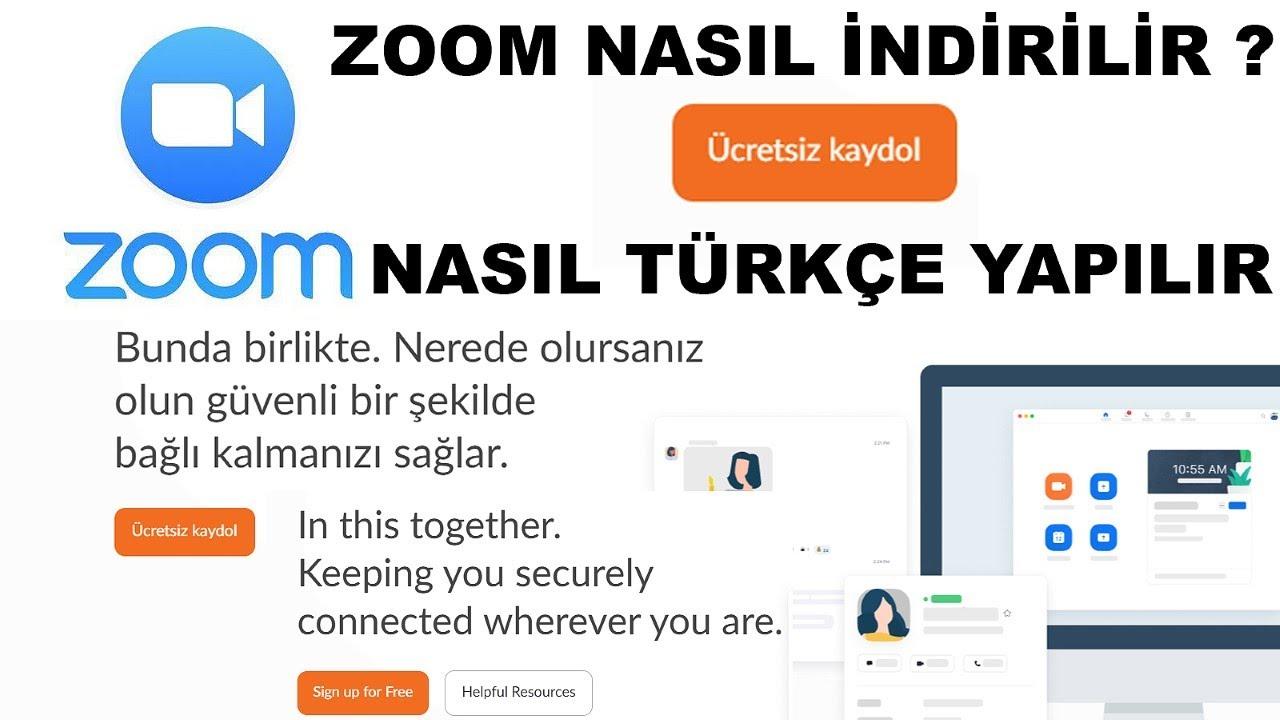 zoom meeting - zoom dili türkçe yapma - zoom programı nasıl indirilir  bilgisayara - uzaktan eğitim - YouTube
