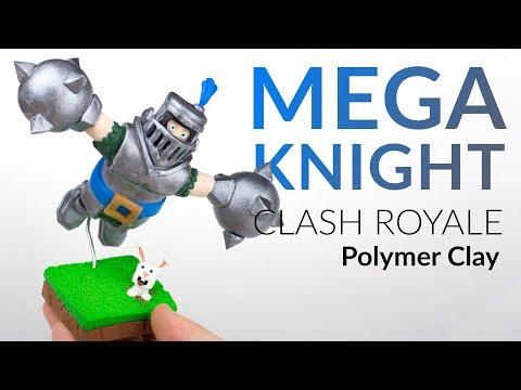 Mega Knight (Clash Royale) – Polymer Clay Tutorial