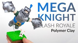 Mega Knight (Clash Royale) – Polymer Clay Tutorial