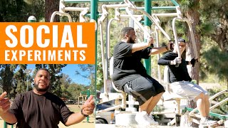 Fat Guy Gives Fitness Advice - All Def Digital's Social Experiments