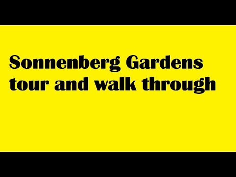 Sonnenberg Gardens Walk Through and tour