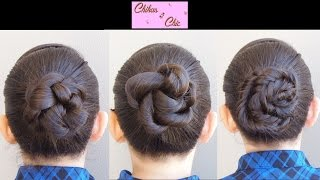 3 easy and beautiful Brided Buns (Updos)! | Chikas Chic