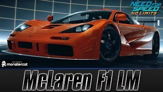 Need For Speed No Limits: McLaren F1 LM (MAXXED OUT + Tuning [All Black Edition Parts])