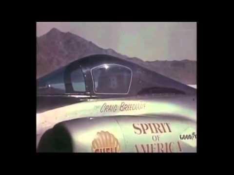 Spirit of America - Craig Breedlove's land speed record - 1963