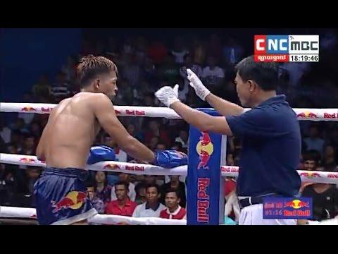 Cheng Kea vs Puy Vannak, Khmer Boxing CNC 29 Apr 2017, Kun Khmer vs Muay Thai