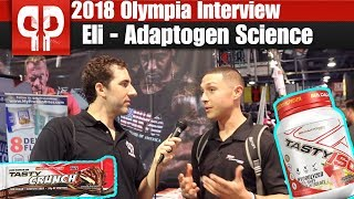 Olympia 2018 Interview - Eli from Adaptogen Science