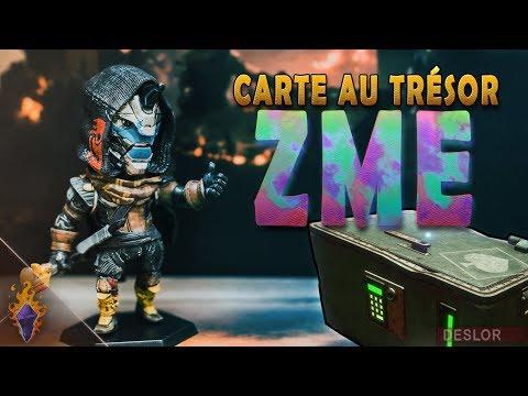 DESTINY 2   Localisations coffres carte au trésor sur la ZME