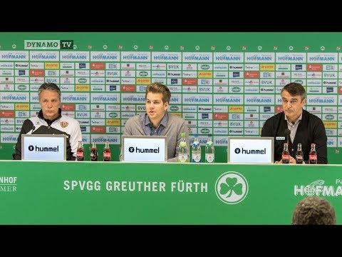 22. Spieltag | SGF - SGD | Pressekonferenz nach dem Spiel