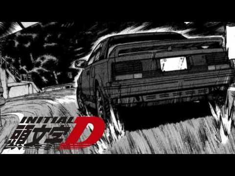 INITIAL D MEGA MIX [Intake mix] 3 HOUR EUROBEAT