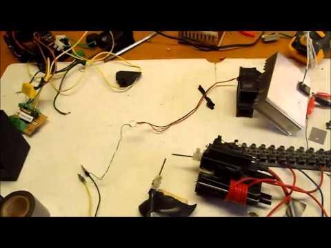 555 timer based plasma speaker
