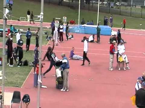 UTSA Track Kerry Thompson High Jump 5