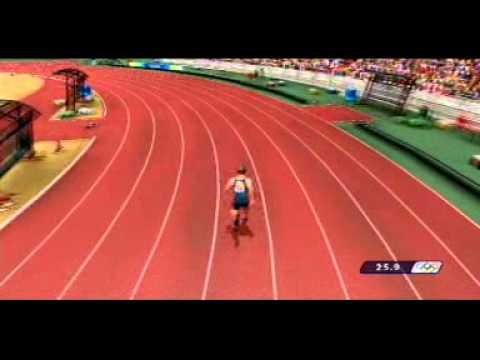 Beijing 2008   400m online WR