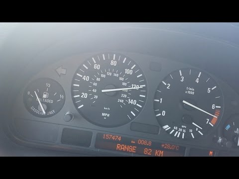 BMW X5 e53 4.4i 2004 (N62 320 hp) The FULL Acceleration Test