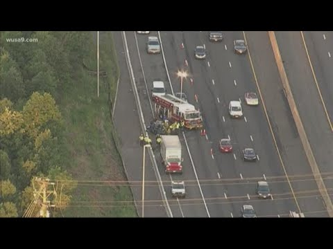 Driver killed in crash with tractor-trailer in Centreville