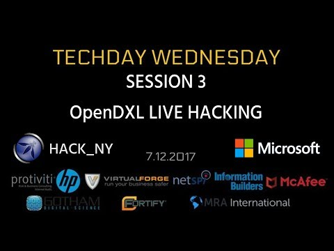 TECHDAY 3 - OpenDXL LIVE HACKING