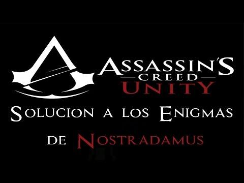 Assassin's Creed Unity - Guía de Enigmas de Nostradamus (Nostradamus Enigma Solutions)