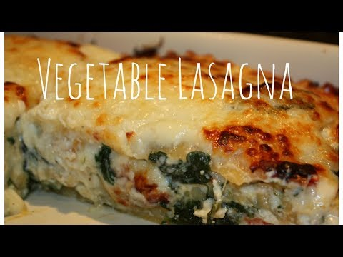 How to make vegetarian lasagna recipes