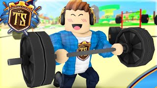 TRAINER TO BECOME THE BEST WEIGHTLIFTERS! -Ep 3-Lifting Simulator | Danish Roblox